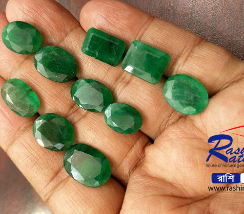 Gemstone Brazil Panna in Bangladesh